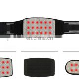 Adjustable Lumbar Lower Back Support Massage Brace Self-heating Magnetic Therapy Belt Relieve Pain And Stress #HY874