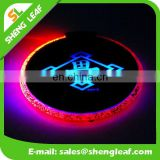 Professional custom printed logo LED Beer Coaster