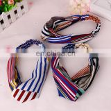Elastic sports hair band hair accessories colorful elastic sport headband women