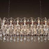 LED crystal Chandelier Pendant Light & iron pendant lamp used for home