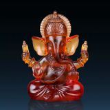 Small Crystal Hindu Ganesha God as Wedding Souvenir