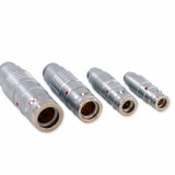 Push-pull self-latching K series different sizes of metal watertight plugs connectors