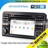 "Erisin ES2511B 7"" Android 4.4.4 Car Radio CD DVD GPS 3G WiFi Bluetooth OBD for Mercedes W164"