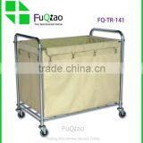 Service Equipment Hotel Product Linen trolley hotel service trolley , hotel room service cart , cleaning trolley cart