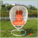 Hotsale Cheap Modern PE Rattan Wicker Patio Swing Chair Hammock Used Restaurant Furniture