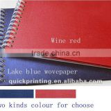 Fashion & low cost Wire-o catalog printing service
