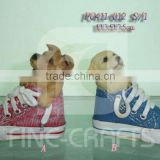Polyresin dog &shoe art money bank