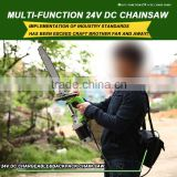 500W36V DC Electric Chain Saw without Oil and Wireless