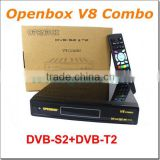 Openbox V8 DVB-S2 + DVB-T2 Twin Tuner HD Satellite Receiver Supported 3G,GPRS,LAN,USB WiFi iptv Openbox V8 COMBO
