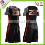 unique basketball uniform design color black wholesale best basketball uniforms