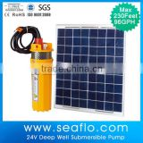 powerful 220V/380V 304 Three-phase inverter 11kw solar water pump for agriculture water submersible pump solar panel system