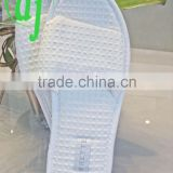 white comfortable disposible hotel slipper with high and excellent quality /wedding favor slippers