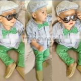 2015 cheap clothing for kids top and pants outfits for little boys