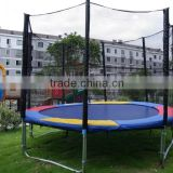 10ft Commercial Used High Jump Trampline Single Bungee Jump Trampoline For Sale / Colorful Trampoline