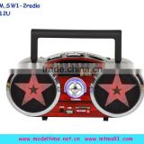 Portable AM FM SW retro usb sd speaker radio
