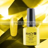 2015 new color nail art designs MACY soak off uv/led gelpolish discontinued nail polish colors