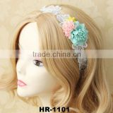 Fashion Women Vogue Rose Floral Headband Garland Festival Wedding Bridal Hairband