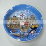 Ceramic Souvenirs Ashtray Hand Painting