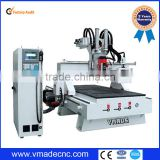 cnc router vmade1325 atc for wooden door windows cabinet/auto too changer atc engraving for furniture