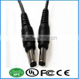 DC Cable Male to Male Power Plug For CCTV LED Strip