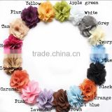"Wholesale 3"" Chic Burlap Fabric Rose Flower,Burlap Rose Flower DIY Kids Supplier                                                                         Quality Choice"