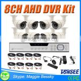 HD 8CH CCTV System 720P DVR 8PCS 720P 1500TVL IR Outdoor Video Surveillance Security Camera System 8 channel DVR Kit