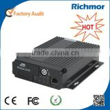 Richmor 3G Video Streaming GPS Tracking Real Time Black Box DVR for Truck Bus Excavator
