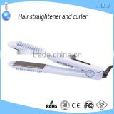 Infrared electrical hair crimper irons