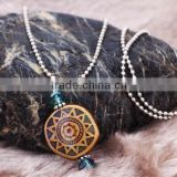 2014 New Womens Acrylic Mirage Mood Stone Fashion Religious Pendent Necklaces                                                                         Quality Choice