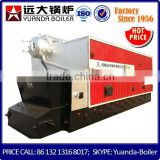 fully automated 4 T/H wood pellets steam boiler with steam rated capacity of 3 and 4 T/H and steam rated pressure of 12 bar