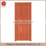 Zhejiang interior doors wooden designs pvc foam board door