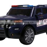Powerful Wheels children ride on car police toy car for big kids