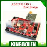 2015 Hot New 8 in 1 Adblue emulator for truck with NOx sensor emulation with Russian English language