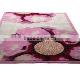 Microfiber Polyester Shaggy Rugs Hotel Carpet And MatYB-A006