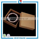 2016 High-End Quality Kraft Paper Custom Gift box Exquisite Jewellery Bracelet or Bangle Gift Box