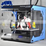 WANHAO high accuracy steel case single extruder D5S mini digital 3d printing machine for 3d model design