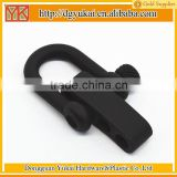 Yukai Black flat shackle buckle for type III 550 military paracord                                                                         Quality Choice