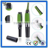 Fashion mini portable man shaving cordless use nose hair trimmer, electric wet or dry nose and ear hair trimmer