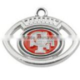 Hot NFL Charms Enamel San Francisco 49ers Football Charms For Bracelet                                                                         Quality Choice
