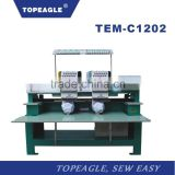 TOPEAGLE TEM-C1202 high quality 12 needle embroidery sewing machine