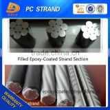 Epoxy Resin Coating Steel Strand Wire