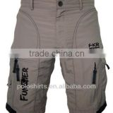 Men's Mountain Bike Cycling Baggy Shorts MTB shorts with optional padded undershorts