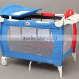 Best selling European standard baby playpen baby play yard travel cot