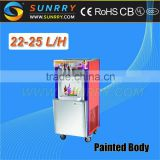 Newly Ice Cream Machine/Flat Pan Fried Ice Cream Machine/Italian Ice Cream Machine (SY-IC25A SUNRRY)