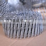 2.5x50mm screw coil nails for pneumatic gun
