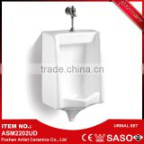 Hot Product Bathroom Corner Dimension Wall Mount Sensor Urinal