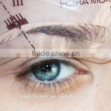Custom hot sale eyebrow stencils makeup tools eyebrow template beauty eyebrow shaping kit                                                                         Quality Choice