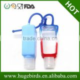 Promotional 30ml silicone bottle holder / 30ml hand sanitizer bottle holder
