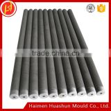 Good erosion-resistance graphite carbon tube Made In China Good Reputation Insulation Chemical Resistant graphite ptfe teflon