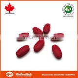 OEM brand private label joint supplement glucosamine chondroitin msm tablet